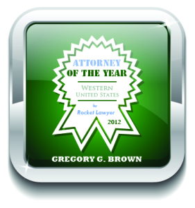 Gregory G. Brown Named Attorney of the Year.