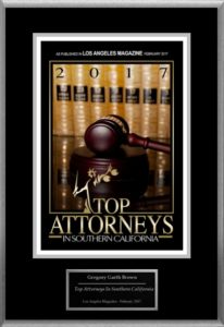 Top Attorneys in So California by Los Angeles Magazine