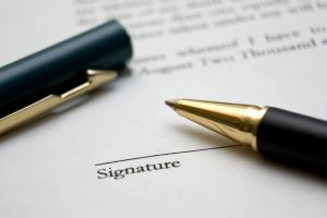 contracts and business deals