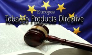 "EU Tobacco Products Directive ""TPD"" for E Cigs"