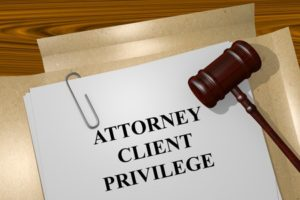 The Attorney/Client Privilege and In House Counsel Communications