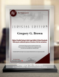 Gregory G. Brown named to